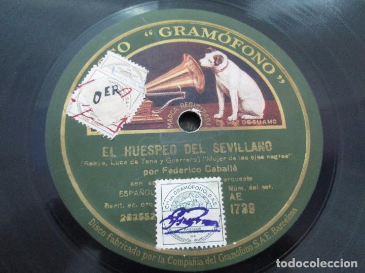 Discos de pizarra: LOTE 10 DISCOS PIZARRA 78RPM + ALBUM. LA VOZ DE SU AMO. GRAMOFONO. VER FOTOGRAFIAS ADJUNTAS - Foto 35 - 87681084