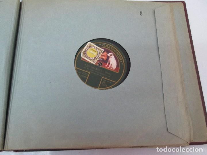 Discos de pizarra: LOTE 10 DISCOS PIZARRA 78RPM + ALBUM. LA VOZ DE SU AMO. GRAMOFONO. VER FOTOGRAFIAS ADJUNTAS - Foto 36 - 87681084