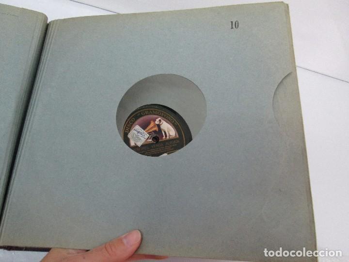 Discos de pizarra: LOTE 10 DISCOS PIZARRA 78RPM + ALBUM. LA VOZ DE SU AMO. GRAMOFONO. VER FOTOGRAFIAS ADJUNTAS - Foto 39 - 87681084