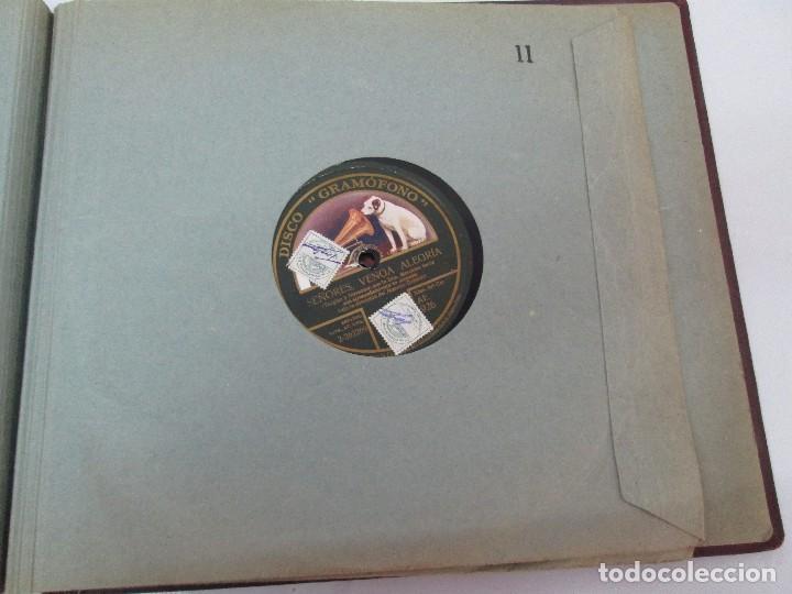 Discos de pizarra: LOTE 10 DISCOS PIZARRA 78RPM + ALBUM. LA VOZ DE SU AMO. GRAMOFONO. VER FOTOGRAFIAS ADJUNTAS - Foto 41 - 87681084