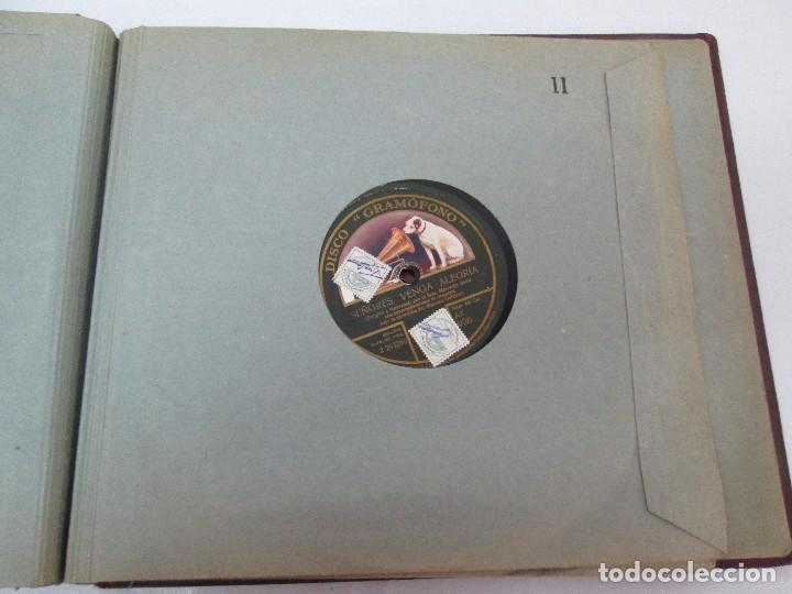Discos de pizarra: LOTE 10 DISCOS PIZARRA 78RPM + ALBUM. LA VOZ DE SU AMO. GRAMOFONO. VER FOTOGRAFIAS ADJUNTAS - Foto 42 - 87681084