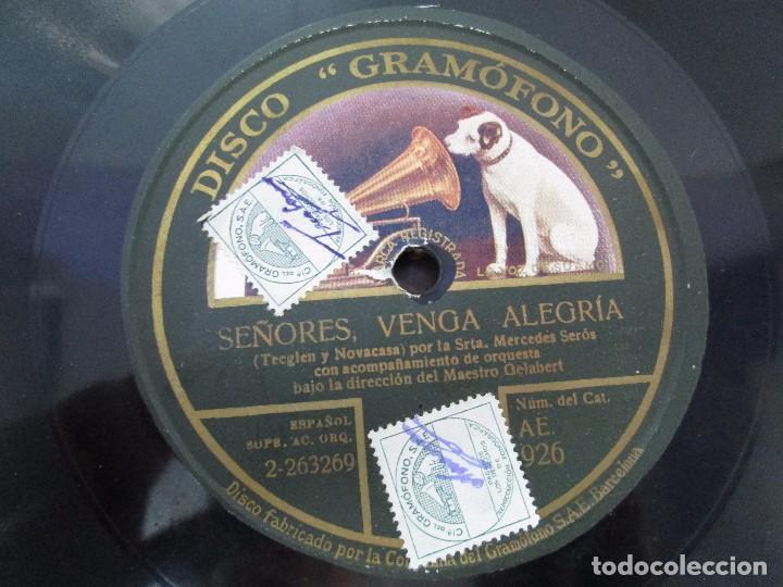 Discos de pizarra: LOTE 10 DISCOS PIZARRA 78RPM + ALBUM. LA VOZ DE SU AMO. GRAMOFONO. VER FOTOGRAFIAS ADJUNTAS - Foto 43 - 87681084
