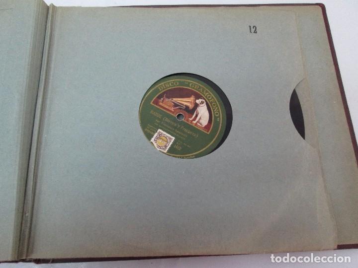 Discos de pizarra: LOTE 10 DISCOS PIZARRA 78RPM + ALBUM. LA VOZ DE SU AMO. GRAMOFONO. VER FOTOGRAFIAS ADJUNTAS - Foto 45 - 87681084