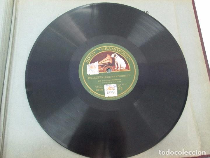 Discos de pizarra: LOTE 10 DISCOS PIZARRA 78RPM + ALBUM. LA VOZ DE SU AMO. GRAMOFONO. VER FOTOGRAFIAS ADJUNTAS - Foto 47 - 87681084