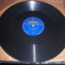 Discos de pizarra: DISCO DE PIZARRA DE JOSS BASELLI, LEJOS DE MI PAMPA / EL LOBITO. EDICION PHILIPS. RARO. D.. Lote 87682328