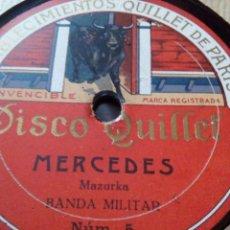 Discos de pizarra: DISCO PIZARRA QUILLET. Lote 87904416