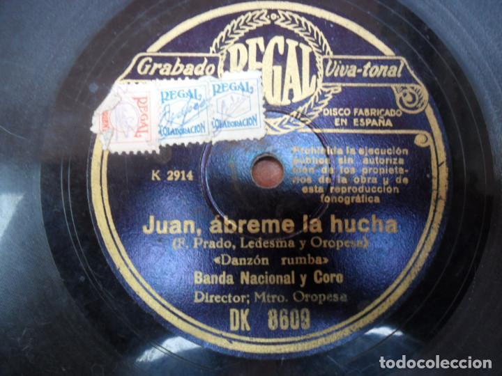 Discos de pizarra: DISCO DE PIZARRA - - REGAL - LA GENARA QUIERE POLKA - JUAN ÁBREME LA HUCHA - RUMBA - Foto 2 - 88153124