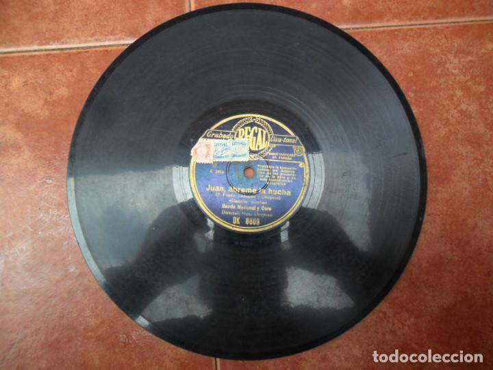 Discos de pizarra: DISCO DE PIZARRA - - REGAL - LA GENARA QUIERE POLKA - JUAN ÁBREME LA HUCHA - RUMBA - Foto 3 - 88153124