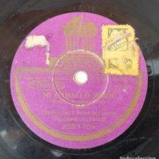 Discos de pizarra: ANTIGUO DISCO DE PIZARRA ODEON 203.170 A 203.170 B ORIGINAL VER DESCRIPCION. Lote 88600688