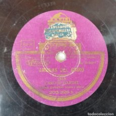 Discos de pizarra: ANTIGUO DISCO DE PIZARRA ODEON 203.326 A 203.326 B ORIGINAL VER DESCRIPCION. Lote 88604296