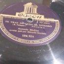 Discos de pizarra: DISCO DE PIZARRA ANTONIO MOLINA. Lote 88891248