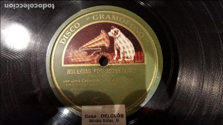 DISCO 78 RPM - CHATO DE VALENCIA - BULERÍAS POR ASTURIANAS - PIZARRA (Música - Discos - Pizarra - Flamenco, Canción española y Cuplé)