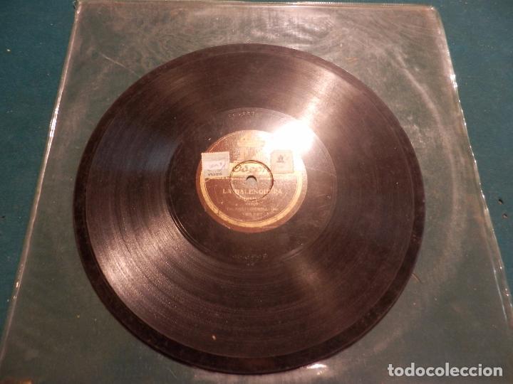 Discos de pizarra: L'EMIGRANT, CANÇO CATALANA (EMILI VENDRELL) + LA BALENGUERA, CANÇO (VIVES I ALCOVER) ODEON - Foto 7 - 89176948