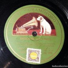 Discos de pizarra: DISCO 78 RPM - TRIO IRUSTA FUGAZOT DEMARE - TANGO - PIZARRA. Lote 90746580