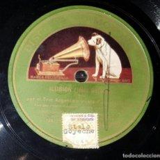 Discos de pizarra: DISCO 78 RPM - TRIO IRUSTA FUGAZOT DEMARE - ILUSION - PIZARRA. Lote 90758085