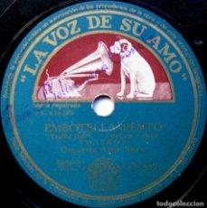 Discos de pizarra: ORQUESTA ARTIE SHAW - EMBOTELLAMIENTO / SERENATA A UN SALVAJE - LA VOZ DE SU AMO 1942 BPY. Lote 90978135