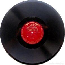 Discos de pizarra: MARIA GALVANY (SOPRANO) - L'INCANTATRICE (ARDITI) - VICTROLA 1920 78RPM 12 PULGADAS BPY. Lote 90987235