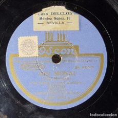 Discos de pizarra: DISCO 78 RPM - ORQUESTA LOS SOLISTAS REUNIDOS - OH! MONA! - PIZARRA. Lote 91396515