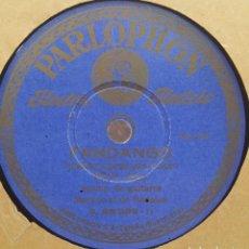 Discos de pizarra - DISCO PIZARRA 78 RPM - PENA (HIJO) & MANOLO DE BADAJOZ (Guitarra) - 91662110