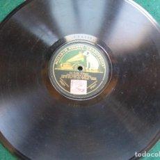 Discos de pizarra: DISCO DE PIZARRA LA BRUJA ( CHAPI) CORO DE HILANDERAS Y JUGADORES. Lote 94288062
