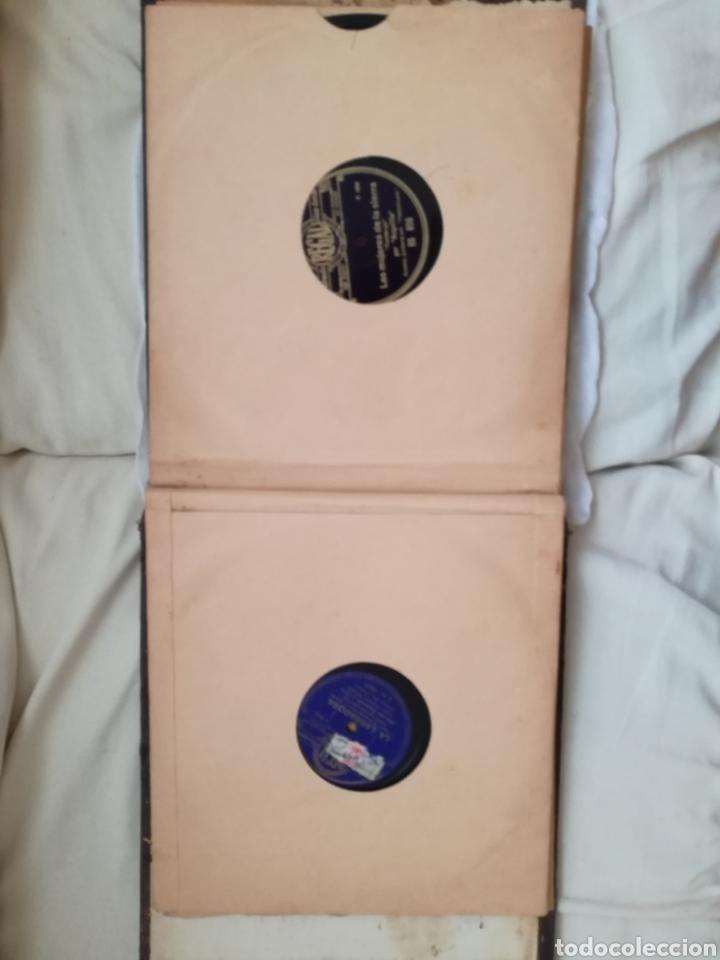 Discos de pizarra: Antiguo Album con Doce Discos Gramola. - Foto 2 - 94977214