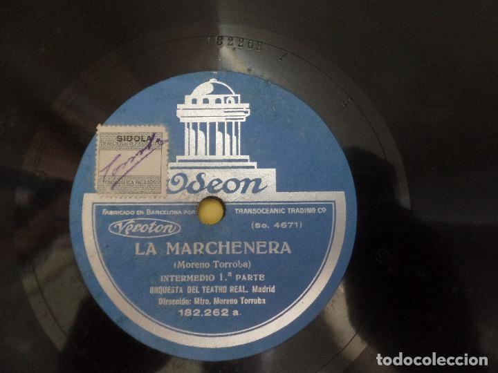LA MARCHENERA ORQUESTA DEL TEATRO REAL MADRID (Música - Discos - Pizarra - Clásica, Ópera, Zarzuela y Marchas)