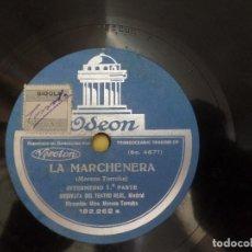 Disques en gomme-laque: LA MARCHENERA ORQUESTA DEL TEATRO REAL MADRID. Lote 122775350