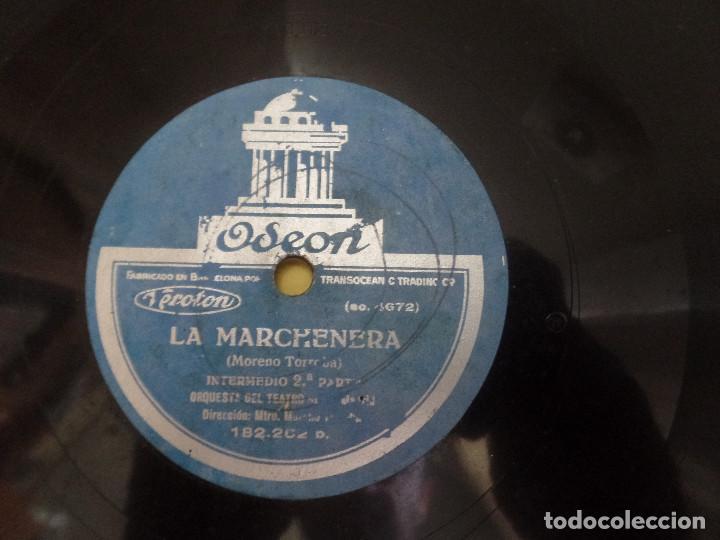 Discos de pizarra: La Marchenera Orquesta del Teatro Real Madrid - Foto 3 - 122775350