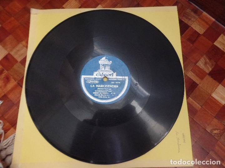 Discos de pizarra: La Marchenera Orquesta del Teatro Real Madrid - Foto 4 - 122775350