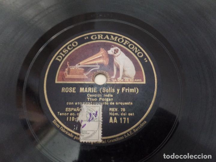Discos de pizarra: Rose Marie ( Solis y Frimi) - Foto 4 - 94992303