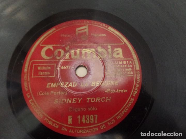 EMPEZAD LA BEGUINE, LA BRISA Y YO SIDNEY TORCH (Música - Discos - Pizarra - Solistas Melódicos y Bailables)