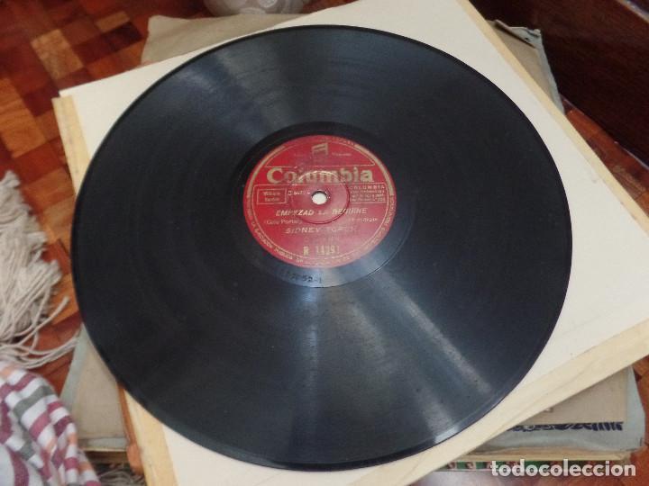 Discos de pizarra: Empezad la Beguine, La brisa y yo SIDNEY TORCH - Foto 2 - 94992851