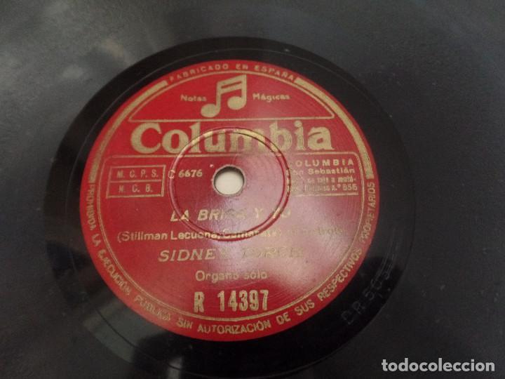 Discos de pizarra: Empezad la Beguine, La brisa y yo SIDNEY TORCH - Foto 3 - 94992851