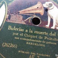 Discos de pizarra: CHIQUET DE PEDRALBA DISCO DE PIZARRA. Lote 95107379