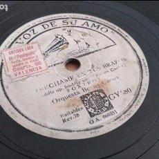 Discos de pizarra: JAZZ ORQUESTA BENNY CARTER - LA VOZ DE SU AMO. Lote 95364747