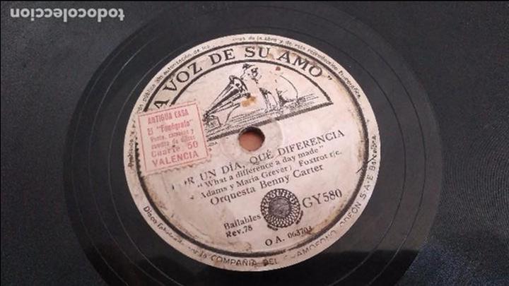 Discos de pizarra: Jazz Orquesta Benny Carter - La voz de su amo - Foto 3 - 95364747