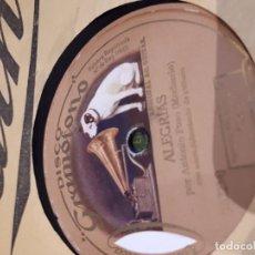 Discos de pizarra: DISCO DE PIZARRA . Lote 95489435