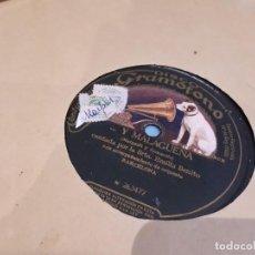 Discos de pizarra: DISCO DE PIZARRA. Lote 95489579