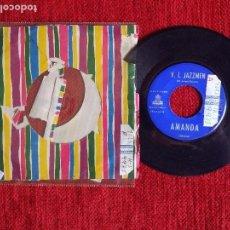 Discos de pizarra: V.I.JAZZMEN + AMANDA. Lote 96600271