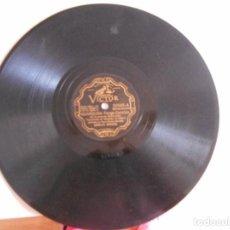 Discos de pizarra: PIZARRA DE CARLOS GARDEL-AMARGURA-APURE DELANTERO BUEY. Lote 98051663