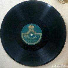 Discos de pizarra: CHIQUET DE PATERNA. EL U Y EL DOS. QUISIERA SER GENERAL. ANTIGUO DISCO DE PIZARRA PARA GRAMOFONO. . Lote 98061523