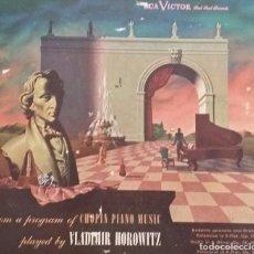 Dischi in gommalacca: ÁLBUM DE 3 DISCOS DE PIZARRA: CHOPIN - VLADIMIR HOROWITZ. Lote 98128827