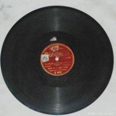 Discos de pizarra: RARO!! DISCO BANDA DE LA LEGION CONDOR - DIRECTOR COMANDANTE TEICHMANN - COLUMBIA. Lote 98163795