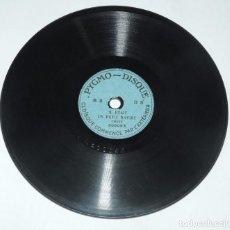 Discos de pizarra: DISCO DE PIZARRA PEQUEÑO PYGMO - DISQUE, PARA PYGMOPHONE, B8, IL ETAIT UN PETIT NAVIRE 200093 Y LA . Lote 98365047