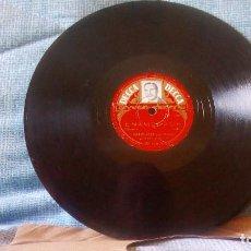 Discos de pizarra: BERNARD HILDA Y SU ORQUESTA CON JANE MORGAN - DISCO DE PIZARRA. Lote 99482063