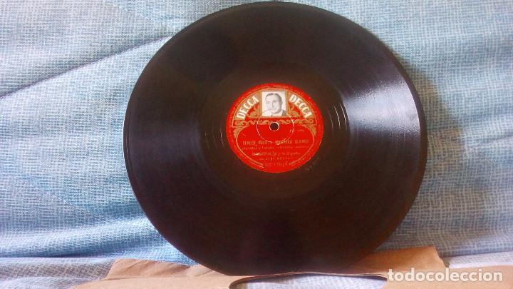 Discos de pizarra: BERNARD HILDA Y SU ORQUESTA CON JANE MORGAN - DISCO DE PIZARRA - Foto 2 - 99482063