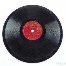 Discos de pizarra: DISCO DE PIZARRA BYE, BYE, BLACKBIRD / XYLOPHONITIS, 903, ED. THE CROWN, DISCO 6 PULGADAS. 15 CMS. B. Lote 99515447