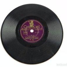 Discos de pizarra: DISCO DE PIZARRA TOMMY / LOLO, ORQUESTA COLUMBIA, P 15, DISCO 6 PULGADAS. 15 CMS. BUEN ESTADO.. Lote 99515911