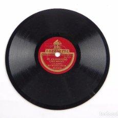 Discos de pizarra: DISCO DE PIZARRA DE EL CARPINTERO, XILOFONO CON BANDA, N. 30020, ED. ODENETTE, 6 PULGADAS, 15 CMS, B. Lote 99516759
