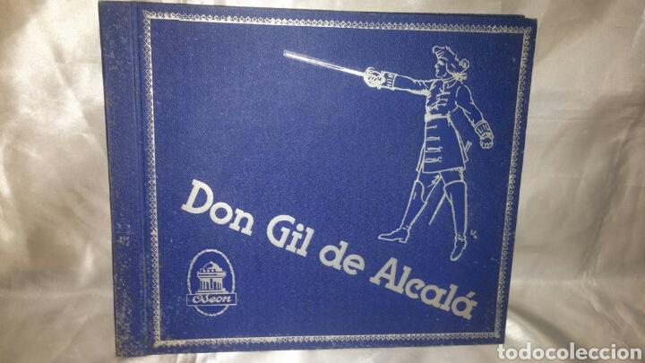 ALBUM DISCO PIZARRA DON GIL DE ALCALA OBRA COMPLETA (Música - Discos - Pizarra - Clásica, Ópera, Zarzuela y Marchas)